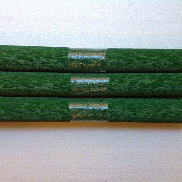Krepppapier grün