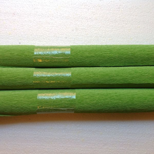 Krepppapier hellgrün