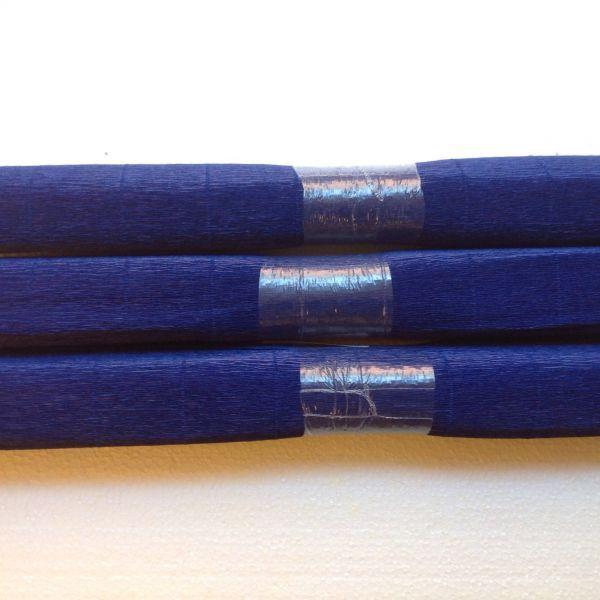 Krepppapier dunkel blau