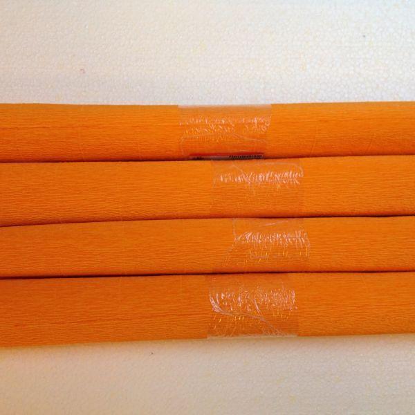Kreppapier mandarine